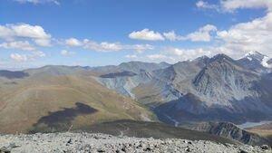 На подходе к озеру Акем, Алтай